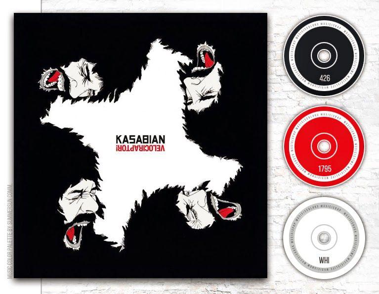 Kasabian Velociraptor 2011 Copertine Degli Album Concerti Shazam