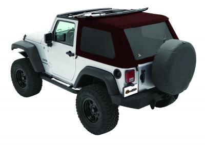 Jeep Jk Soft Top Trektop Nx Twill 07 17 Jeep Wrangler Jk 2 Door