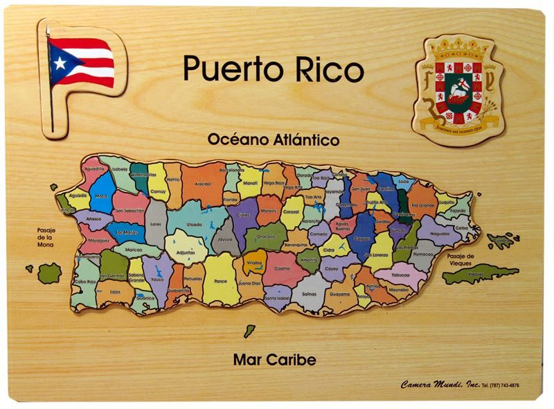 Map Of Puerto Rico There Are 78 Cities In Puerto Rico The