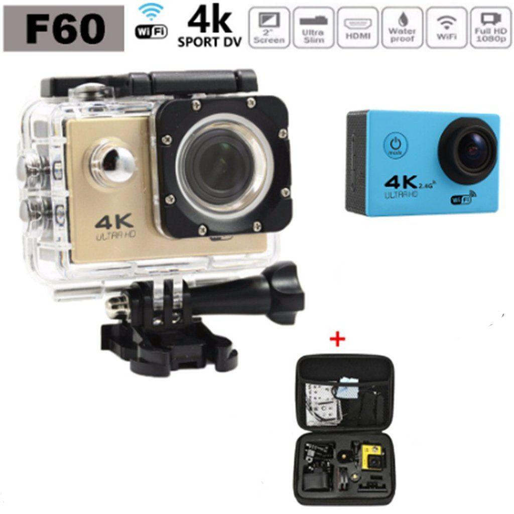 Jesiya 4k Ultra Hd Sports Action Camera 30m Waterproof Wifi 170 Cam Sport Mini 1080p H264 Full No Degree Wide Lens H