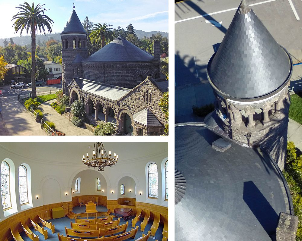 Montgomery Chapel At Sf Theological Seminary In Marin County Ca