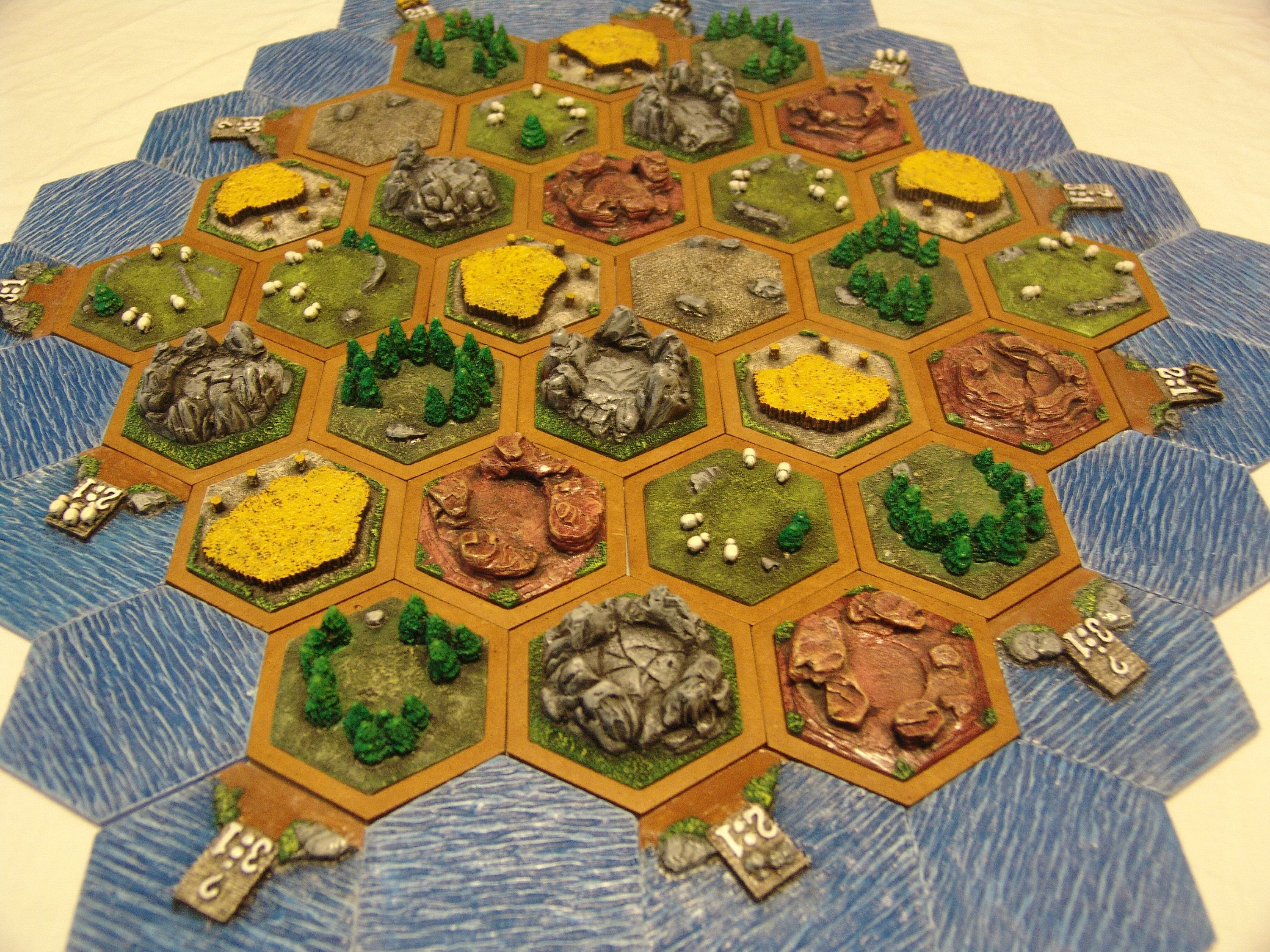 Leifkicker Settlers of catan, Tiles, Unique tile