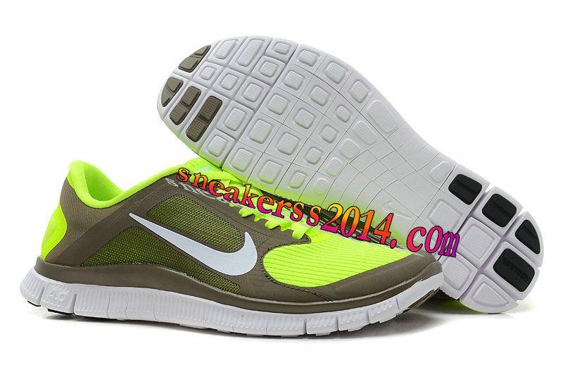 huge discount 1e887 ca04a womens nike free run 4.0 khaki