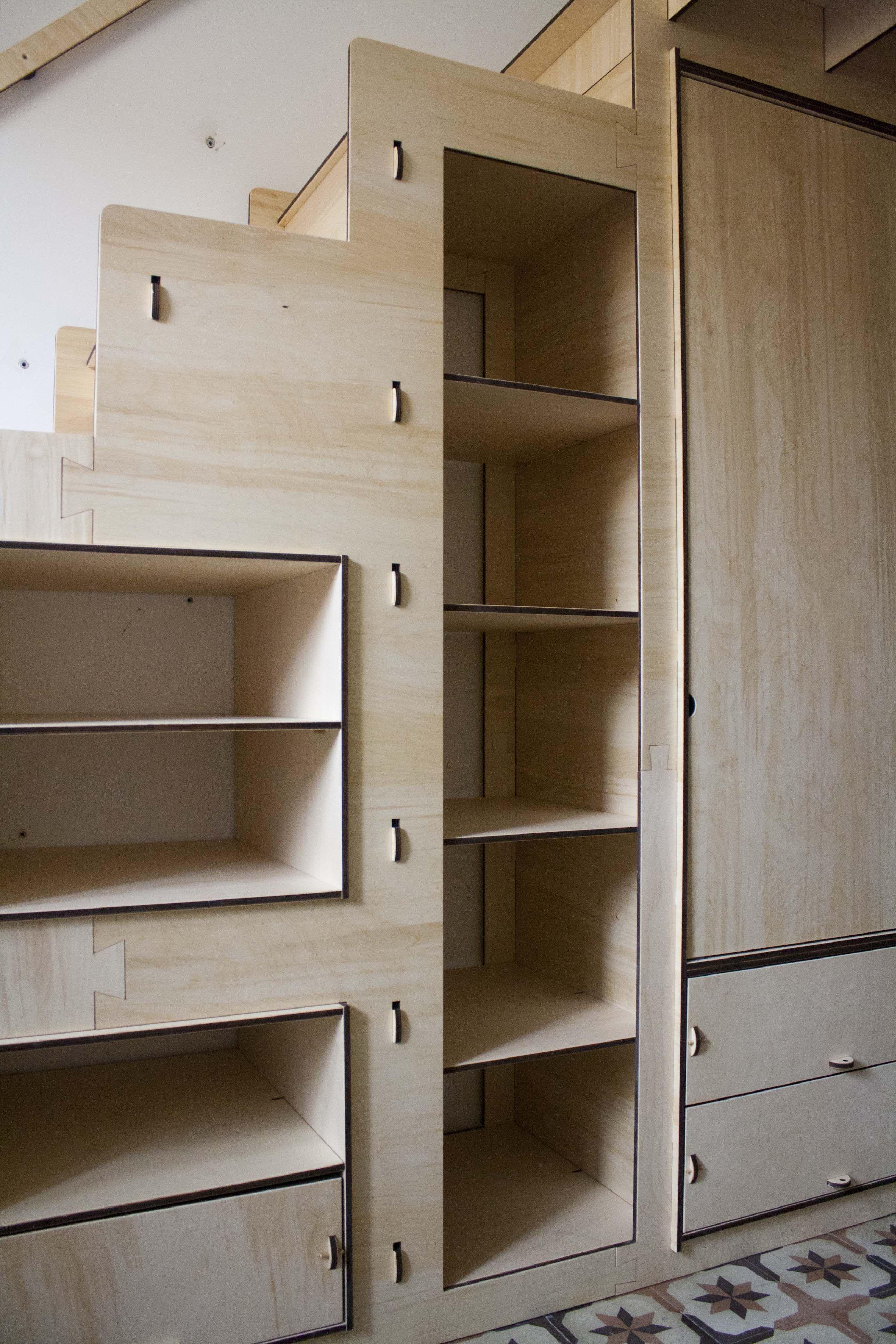 Stair Wardrobe Loft bed