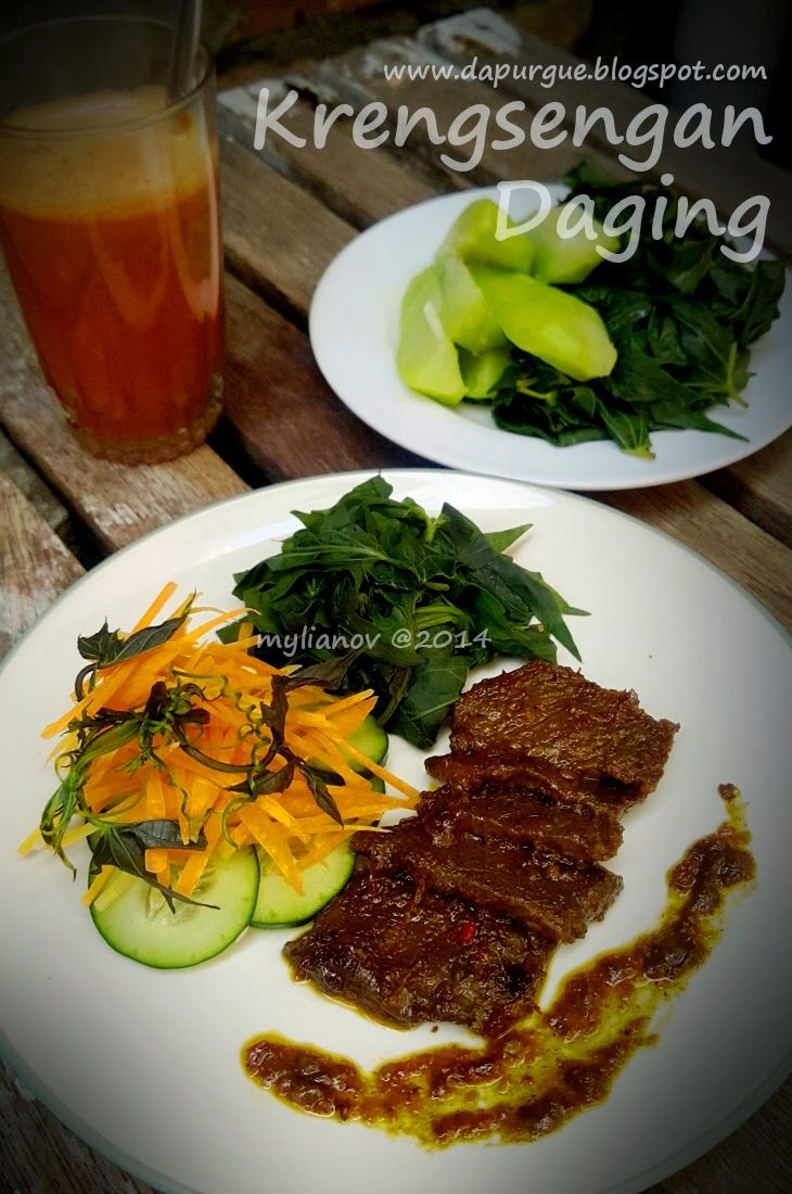 Dapur Gue The Story Of My Smokey Kitchen Daging Resep Makanan Daging Sapi