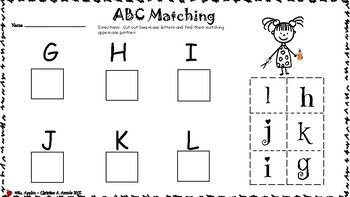 abc matching cut and paste worksheet alphabet letters cut paste worksheets worksheets cut. Black Bedroom Furniture Sets. Home Design Ideas