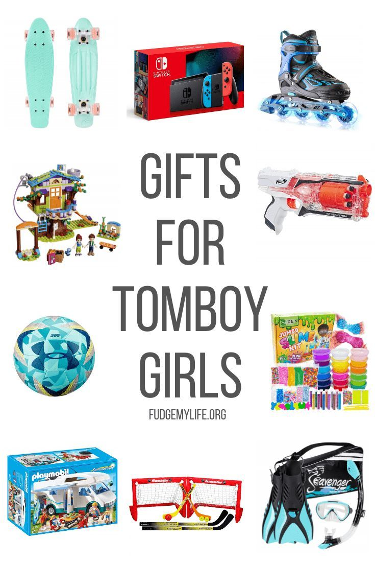 gifts for tomboys age 6