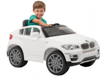 Mini Carro Eletrico Infantil Bmw X6 Com Controle Remoto 2