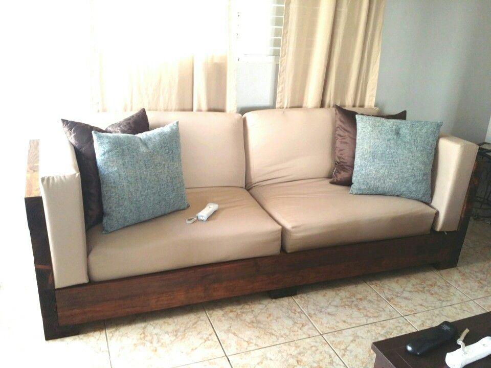 diy rustic sofa diy industrial rustic furniture Pinterest - muebles diy