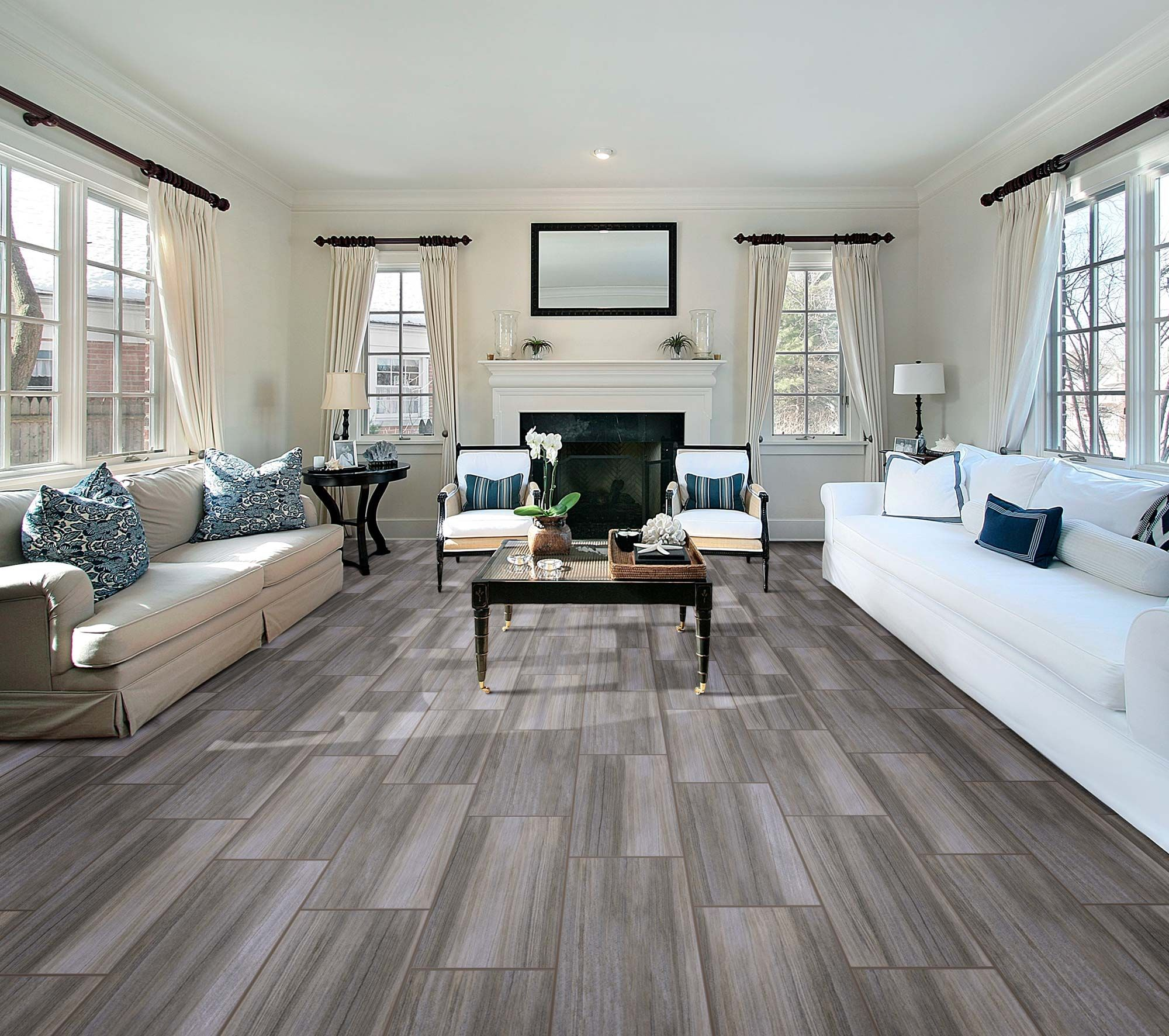 Energy spark congoleum duraceramic luxury vinyl flooring american concepts stone harbor x tile laminate in bryant hickory doublecrazyfo Images
