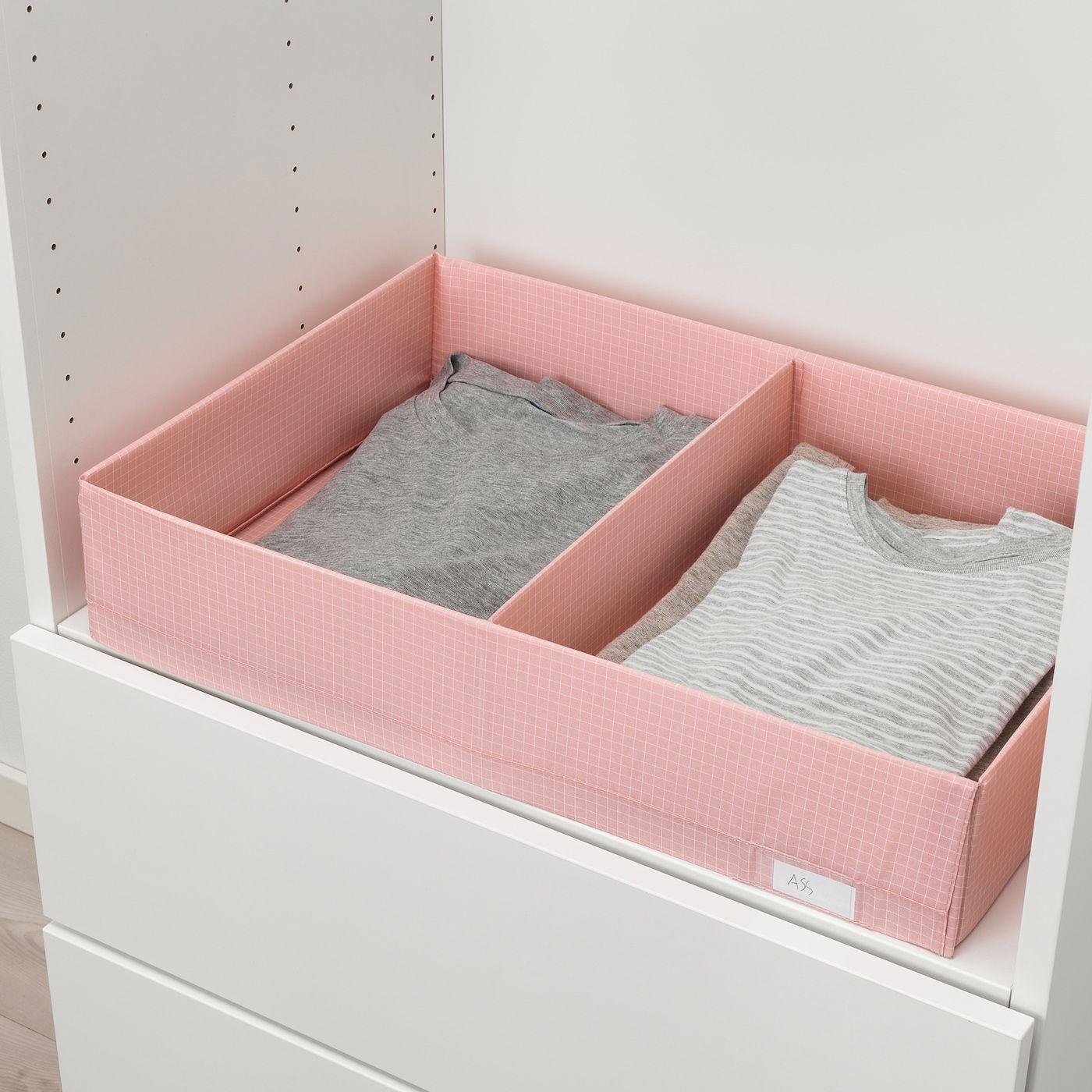 Stuk Kasten Mit Fachern Rosa In 2020 Ikea Aufbewahrungsbox Mit