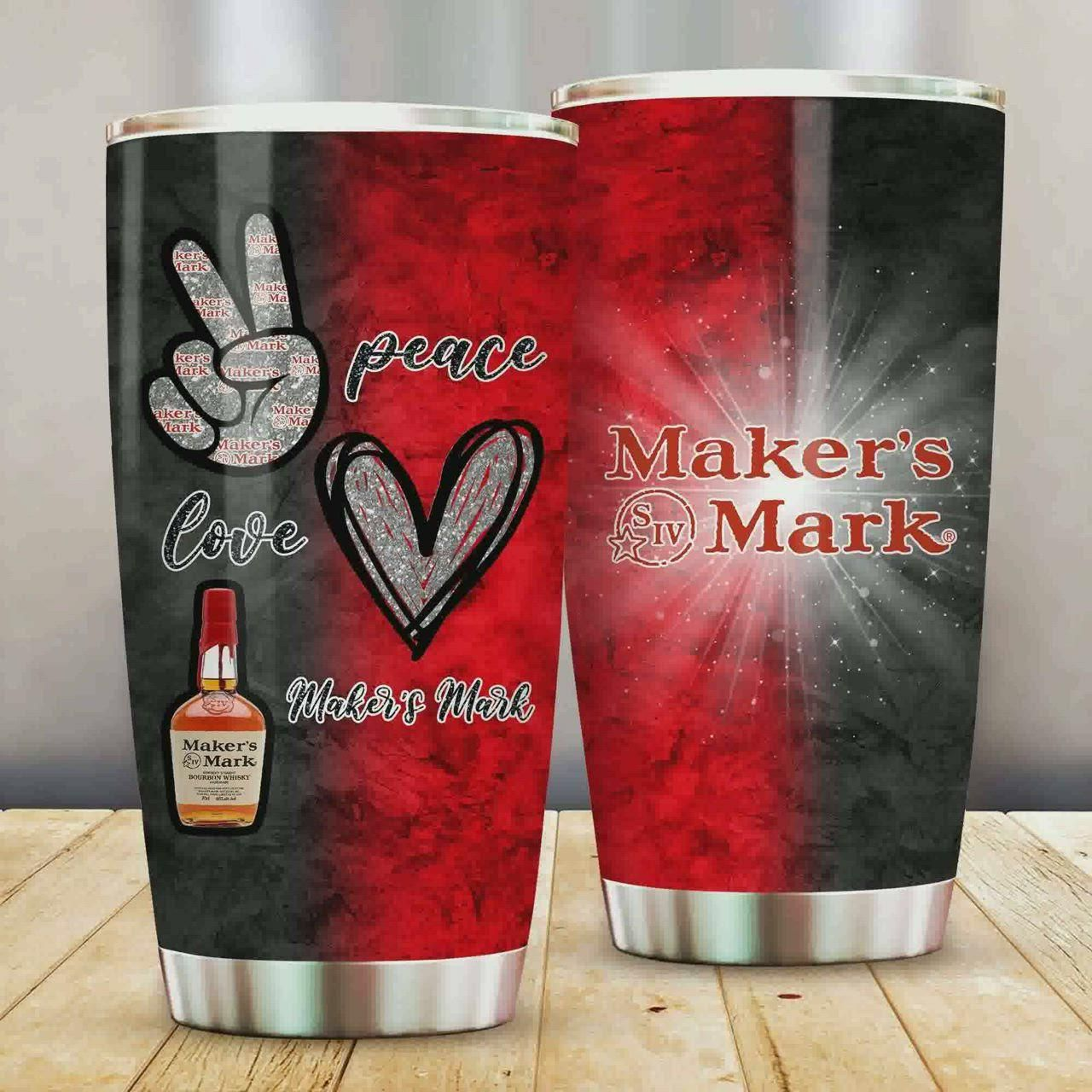 Peace Love Maker S Mark Tumbler Cup Ver 2 Video Video In 2020 Tumbler Cups Coors Light Peace And Love