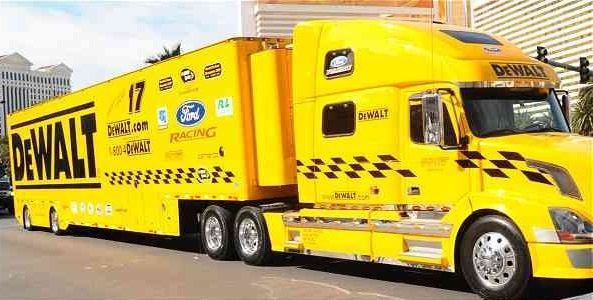 Dewalt Roush Racing Nascar Volvo Ford Racing Nascar Trucks