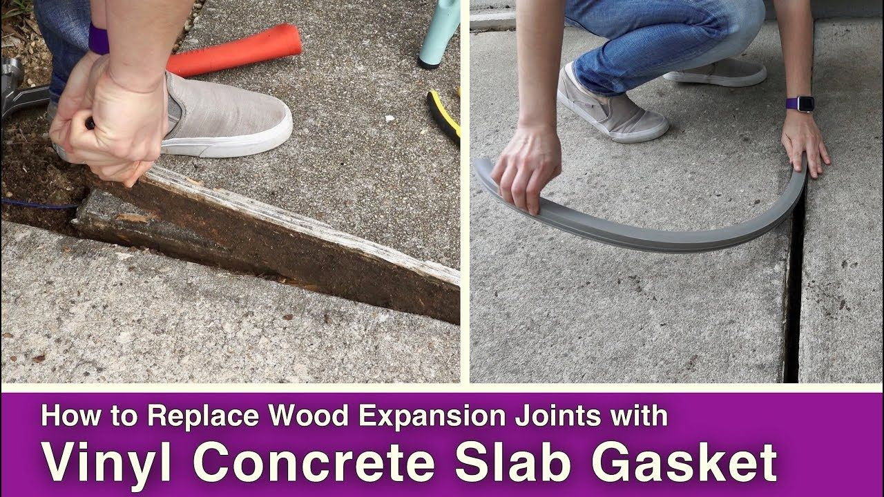 How To Replace Wood Expansion Joints In Concrete Slabs Expansion
