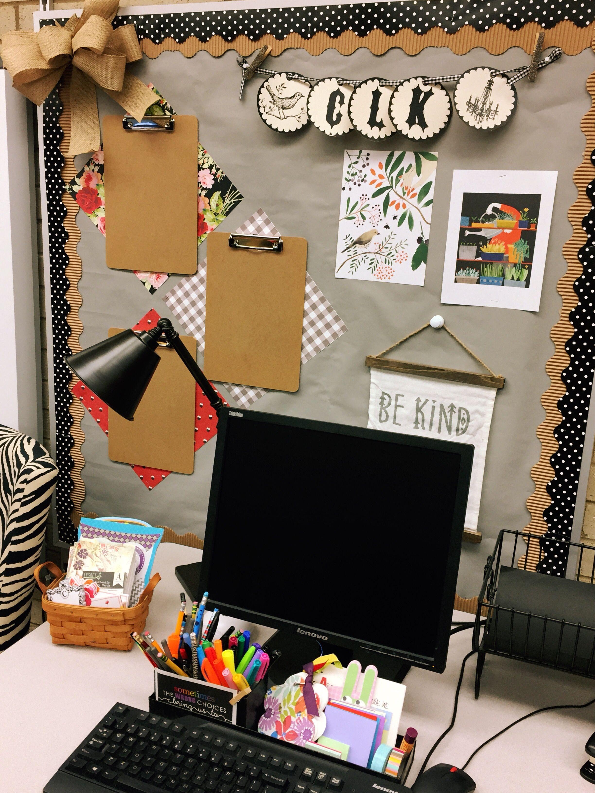 Bulletin Board By My Teacher Desk I M Ready For A New Year Teacher Desk Decorations Kindergarten Classroom Decor Teachers Diy