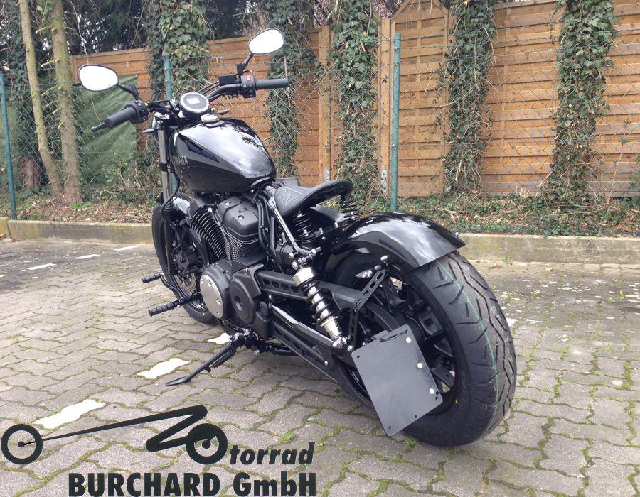 Yamaha Star Bolt Spring Seat And Rear Fender Honda Bobber Harley Davidson