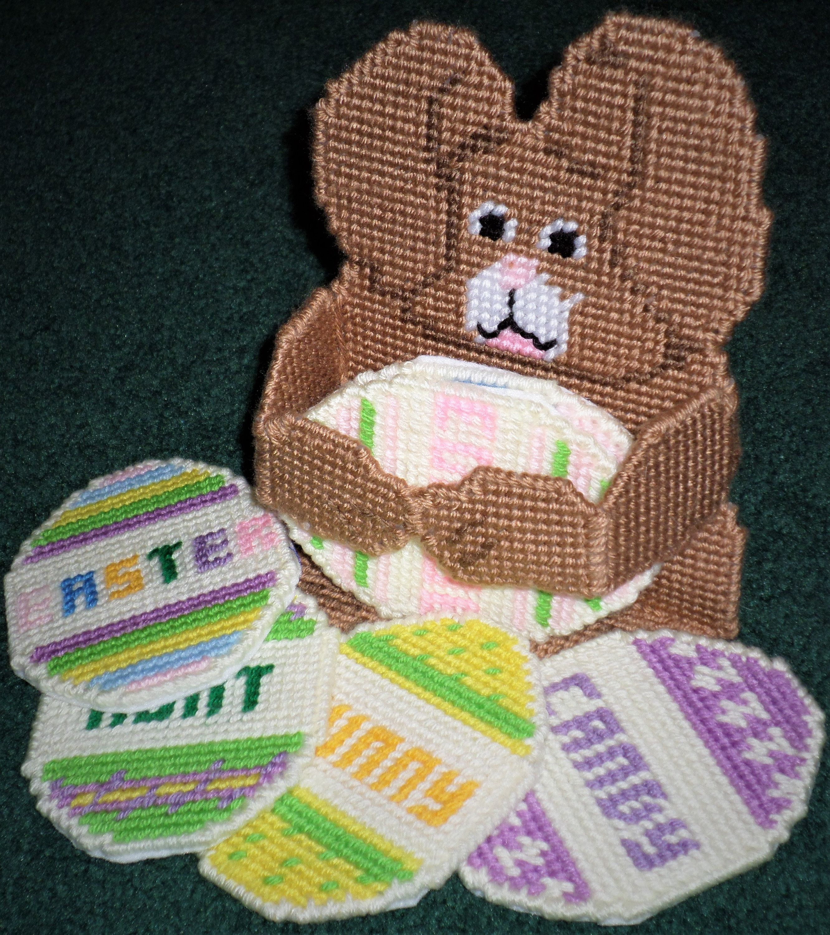 Easter bunny coaster set plastic canvas easter coaster gift set easter bunny coaster set plastic canvas easter coaster gift set easter hostess gift plastic canvas coaster gift sets easter coasters negle Gallery