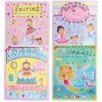 sticker & activity books for girls