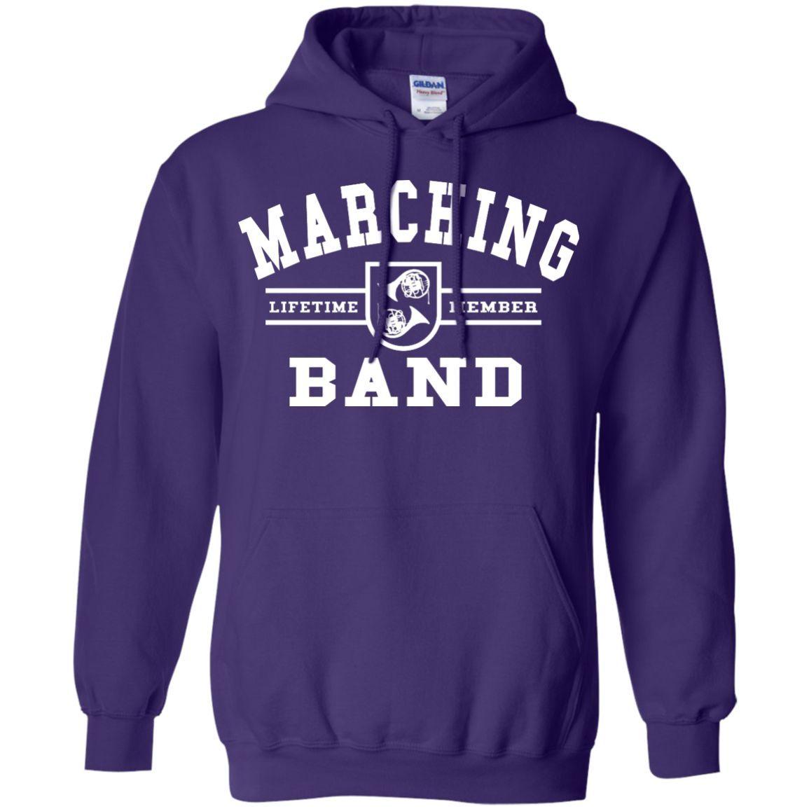 Marching Band Horn Custom Hoodie