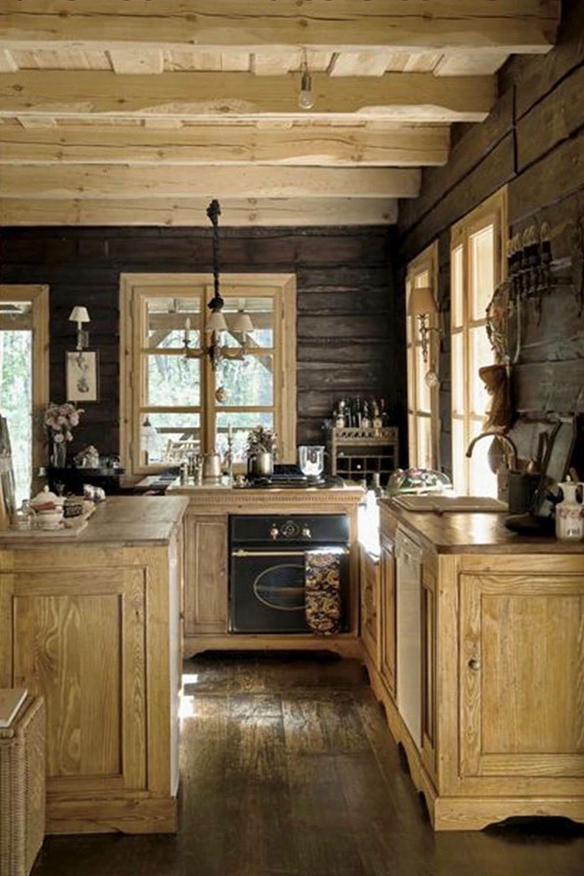 46 stylish rustic farmhouse kitchen ideas in