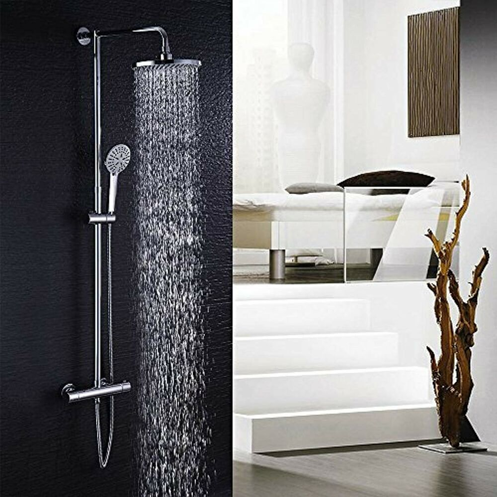 Hausbath Duschbrause Set Uberkopfbrause Set Regal Duschsystem Sets