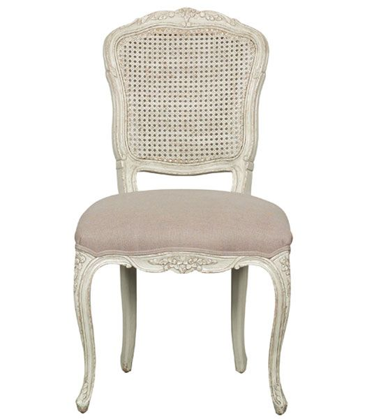 Louis Xv Chateau French Provincial Dining Chair French Taupe
