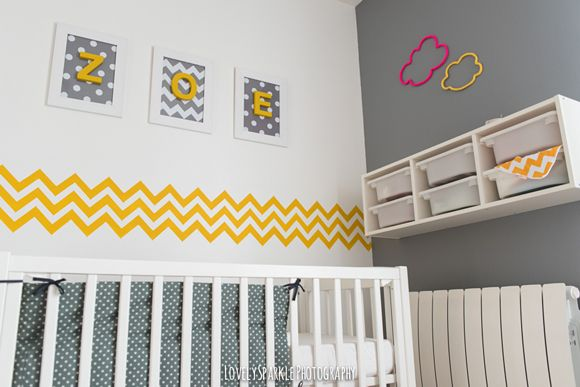 1000 images about chambre bebe on pinterest 3 branches cloud pillow and koalas - Chambre Jaune Et Gris Bebe