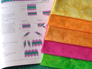 Así que muchos colores: Tutorial: Seminole Patchwork