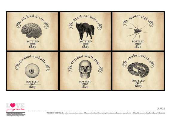 graphic regarding Vintage Halloween Printable named No cost Classic Halloween Printables