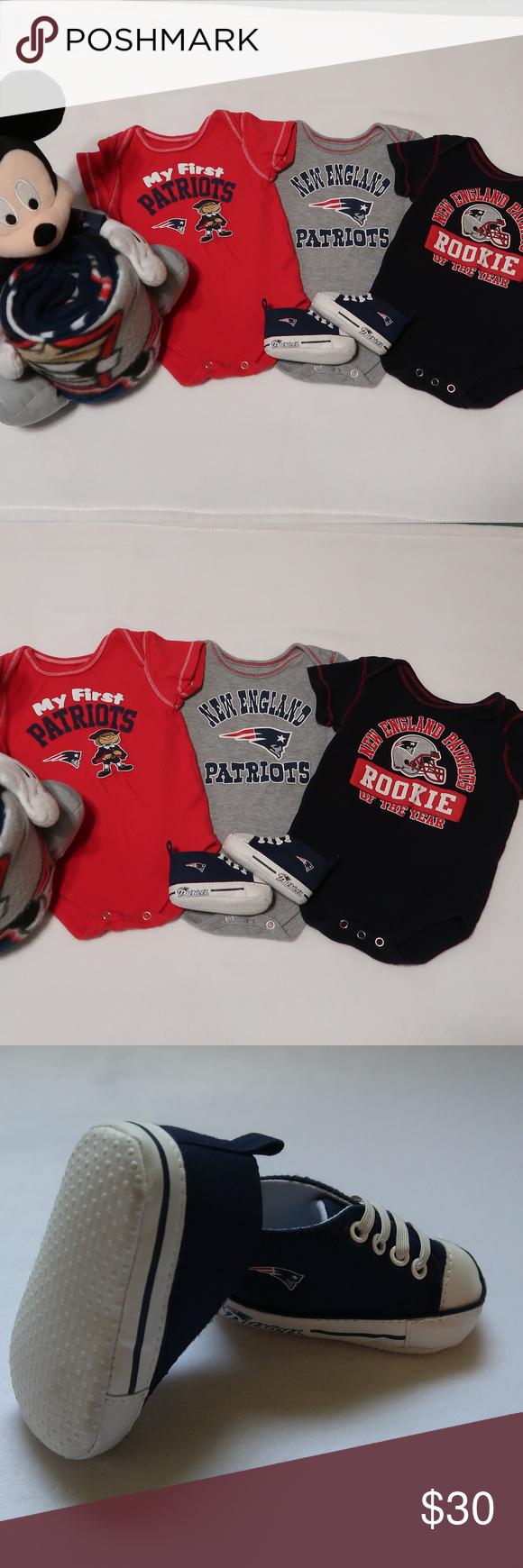 Get your Patriots-themed Christmas gifts here! - Pats Pulpit |New England Patriots Crib Shoes