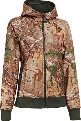 Purple Green Women Semi Fitted Fleece Weatherproof Layering Jacket CAMO /& Pink