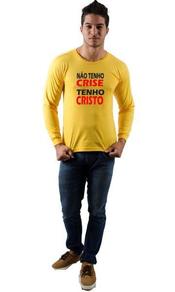 7c8d92cab Camiseta Tenho Cristo - Reis Online Camisetas Personalizadas ...