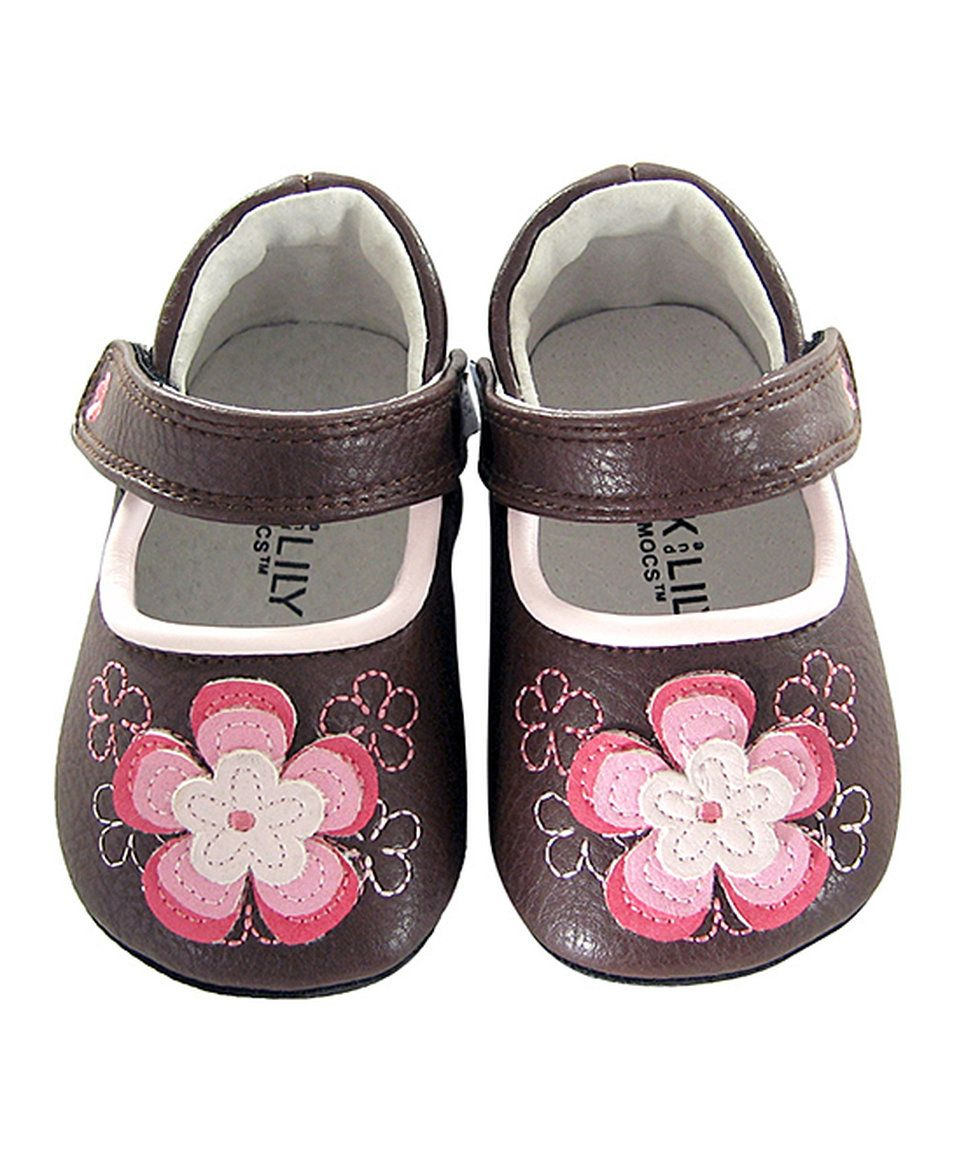 Take a look at this Jack & Lily Brown Flower Anabelle Leather Booties today!