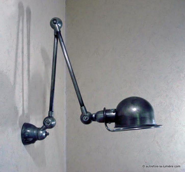 Applique murale jield lampe jield ancienne et - Lampes jielde anciennes ...