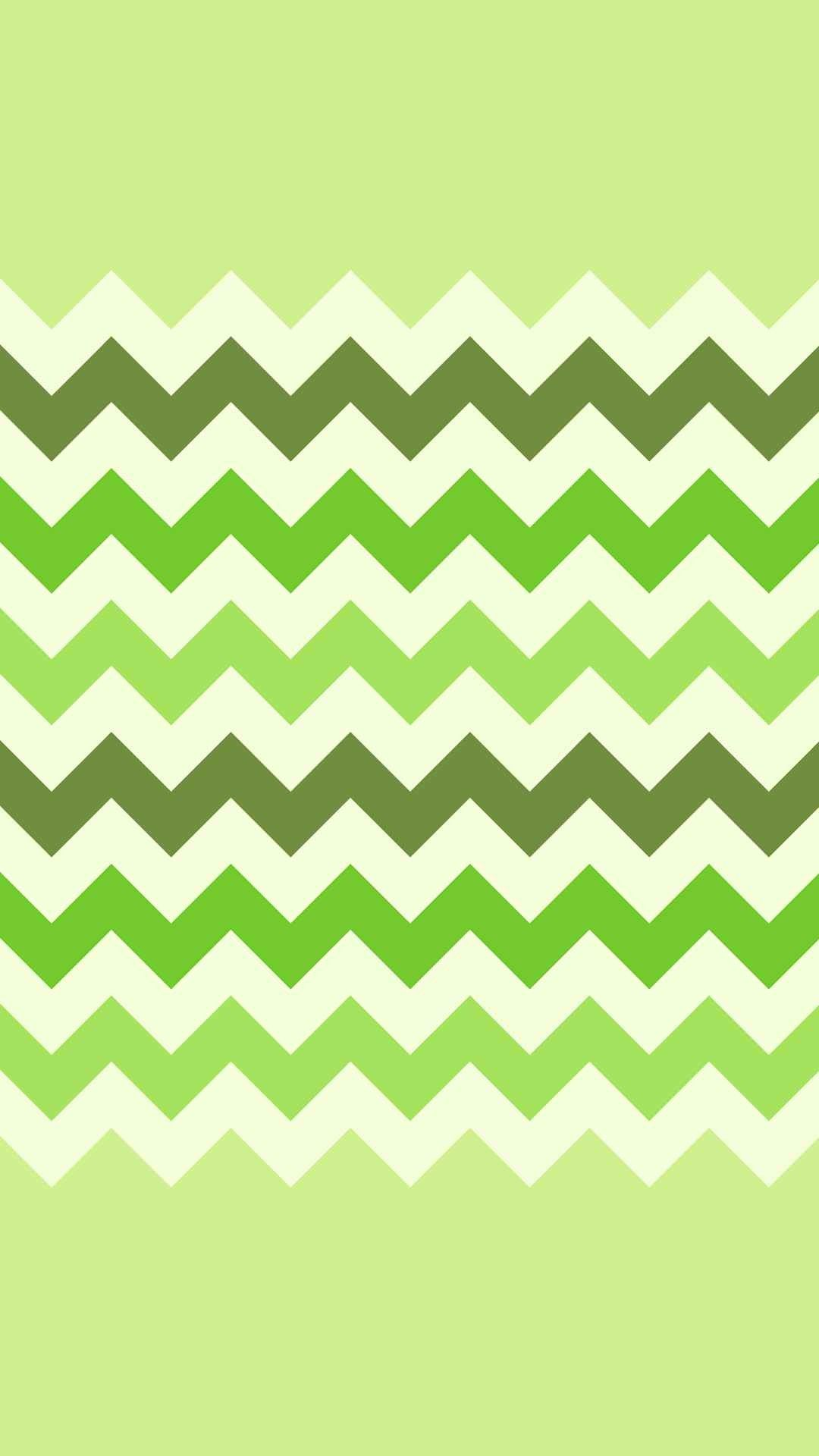 Ombre Green Chevron and Zigzag iPhone 6 Plus Wallpaper ...