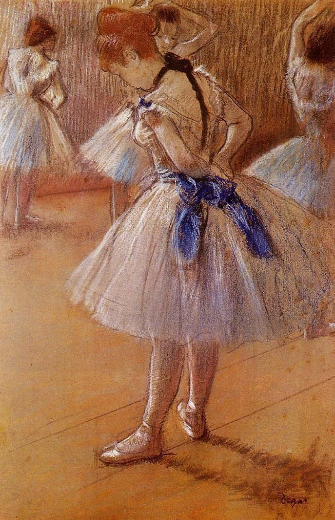 Edgar Degas. - This was one of the paintings at my friend ...