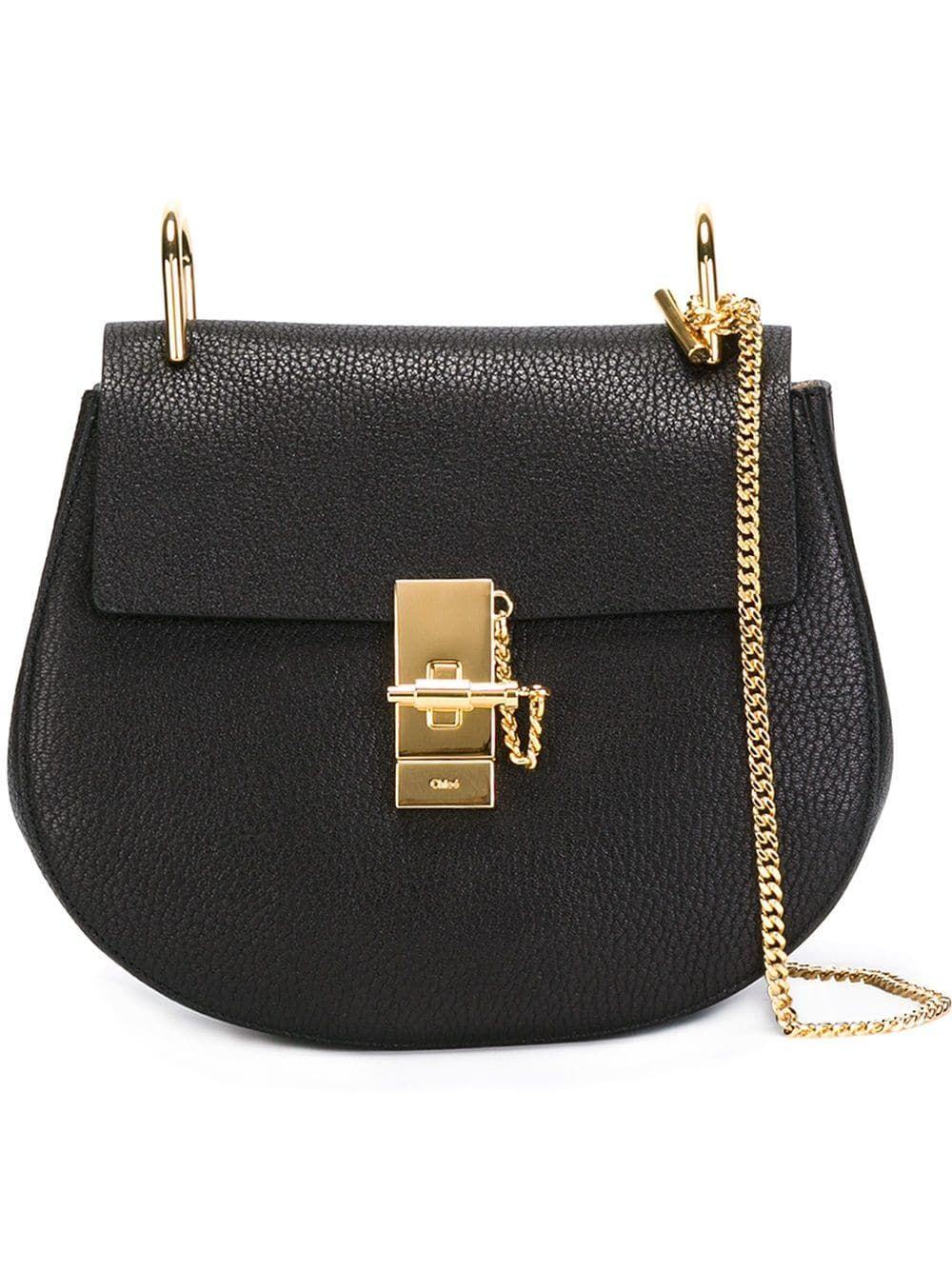 Chloé Small Drew Shoulder Bag Black