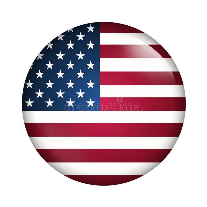 Usa Flag Circle Button Flag Of Usa Sponsored Advertisement Sponsored Flag Button Circle Usa In 2020 Patriotic Buttons Flag United States Flag