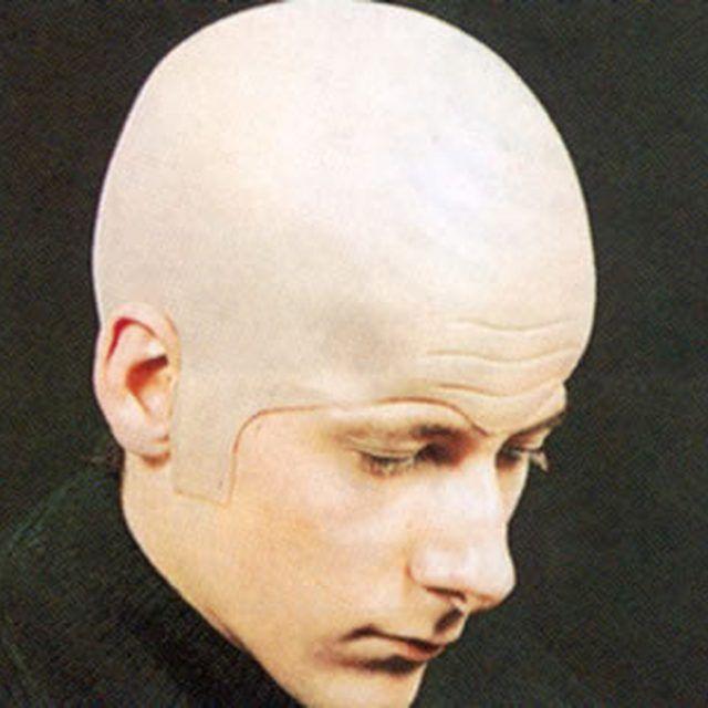 how to make a bald head costume