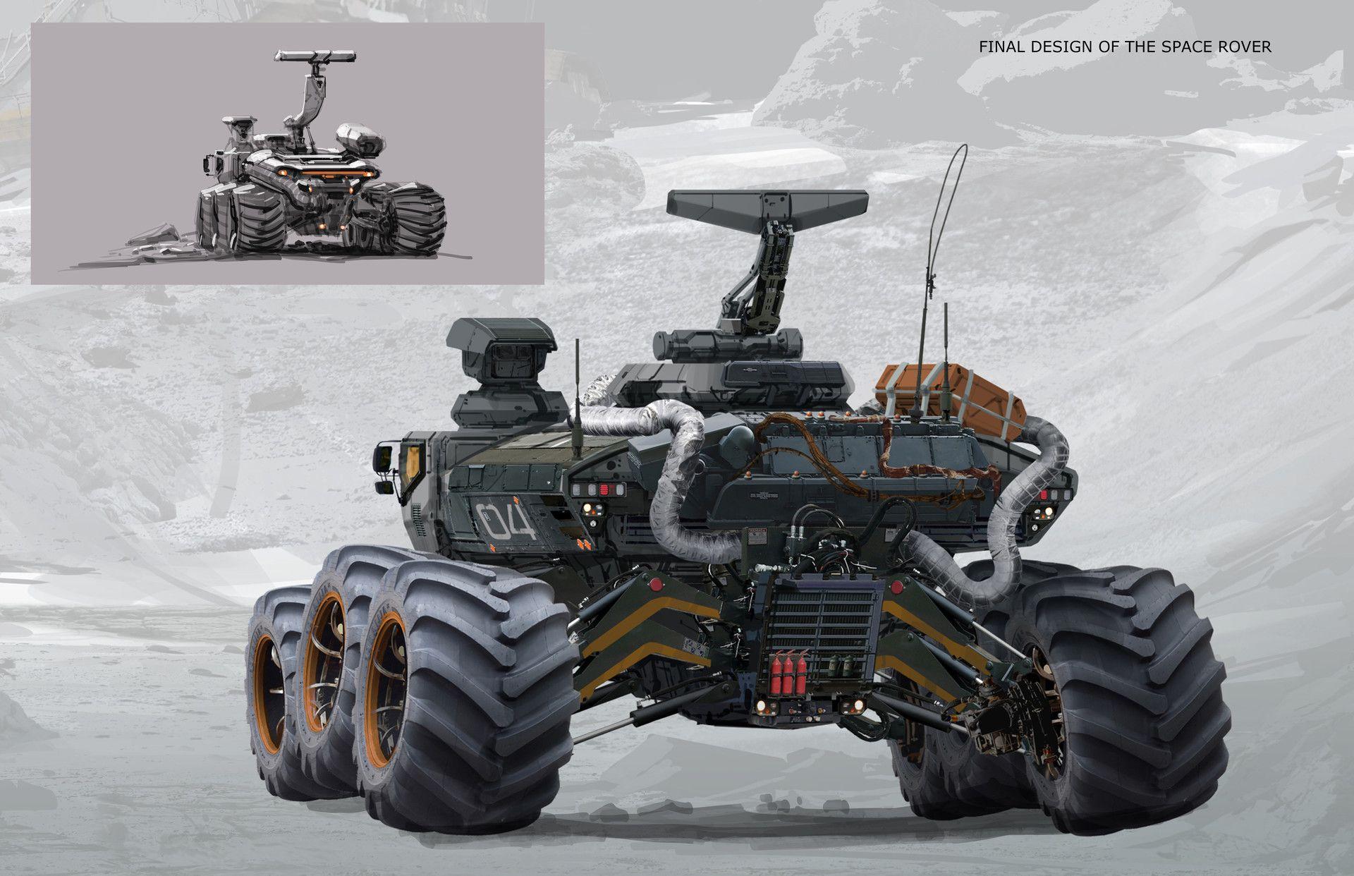 space engineers mars rover - photo #16