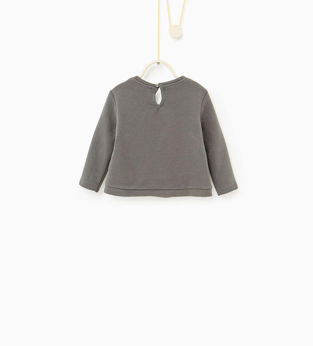 ZARA - KIDS - Heart sweatshirt