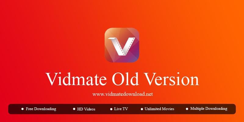 Vidmate Old Version in 2019 Video downloader app, Online