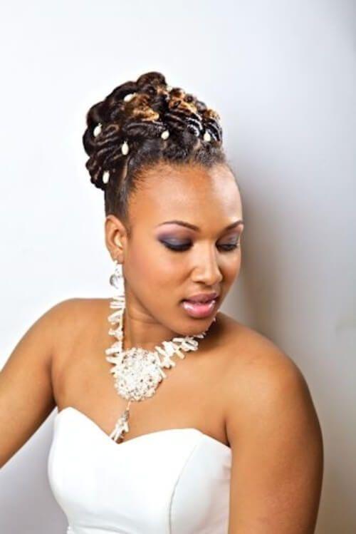 14 Dreadlock Braids For Women Dreadlock Wedding Hairstyles Natural Hair Styles Locs Hairstyles