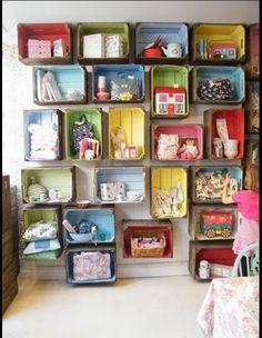 Toy storage idea & Toy storage idea | Real House Ideas | Pinterest | Toy storage ...