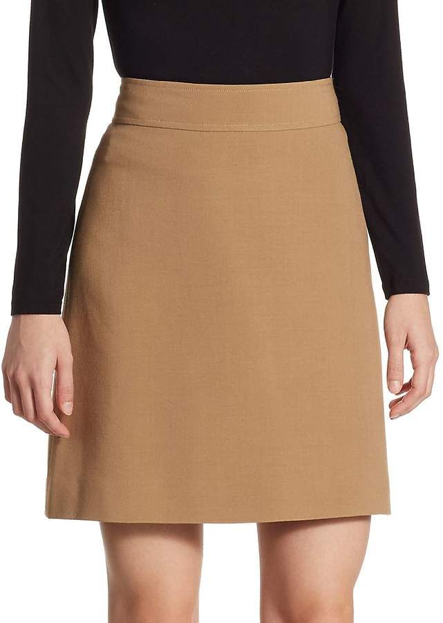 18139f51fb Theory Women s A-Line Mini Skirt