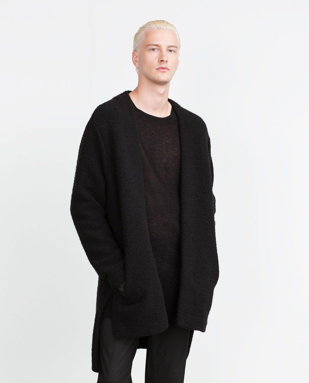 Coats & Jackets Open Jacket Zara Man