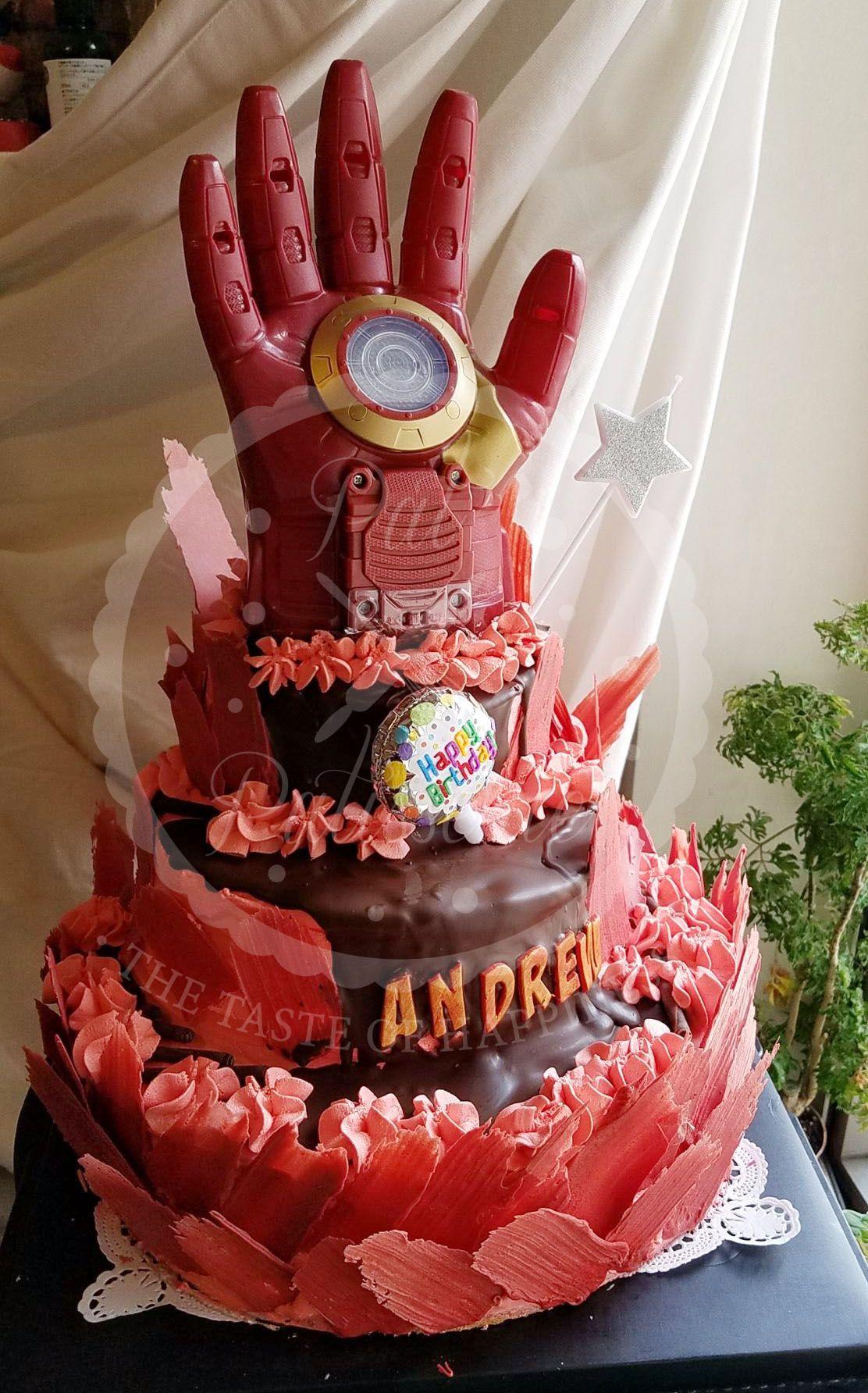 Iron man cake ironman cake cakes for men cake