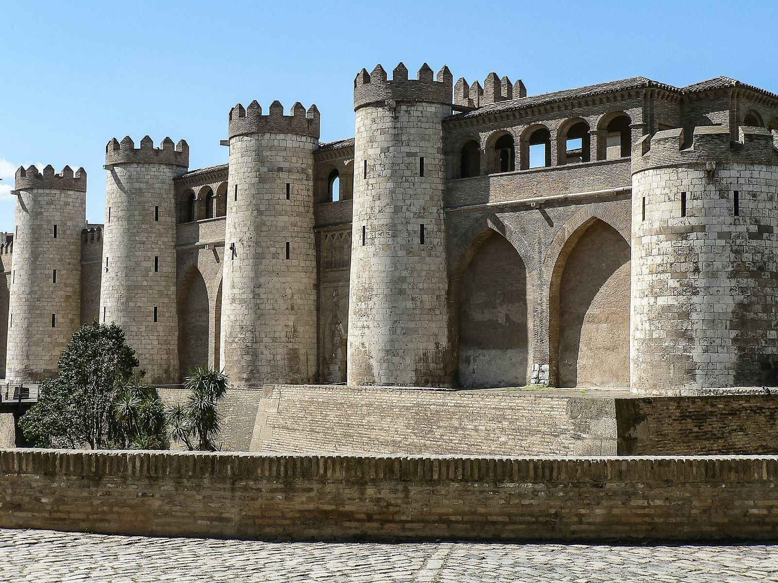 The Aljafería Palace.Zaragoza,Aragon, Spain.it is the only