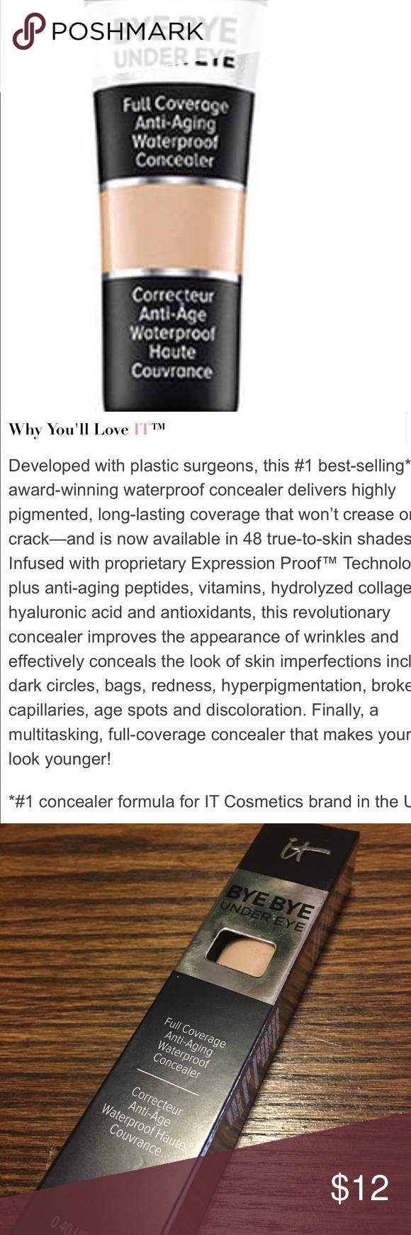 It cosmetics bye bye under eye concealer Under eye