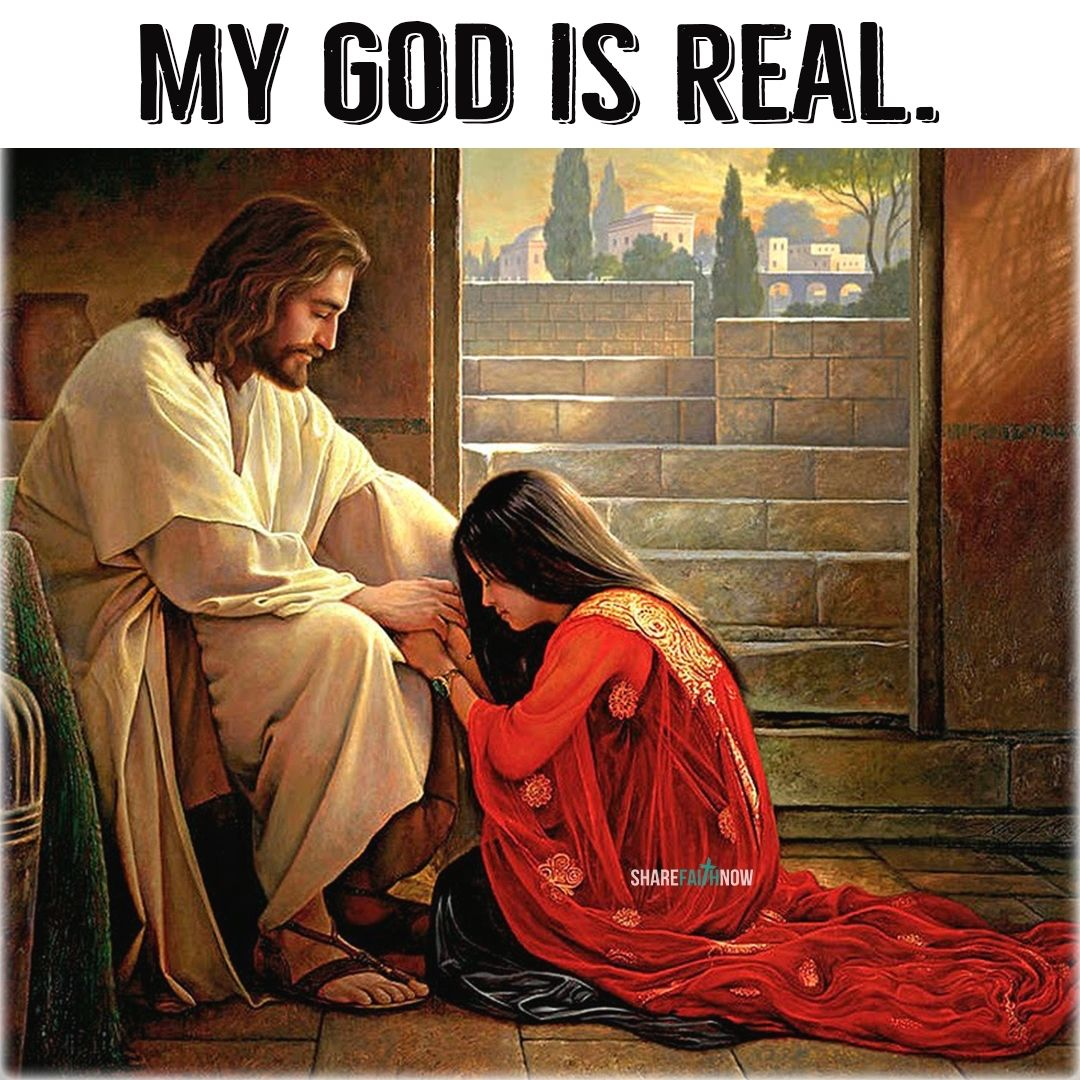 God and Jesus Christ:My god is real | Jesus christ art, Lds art, Pictures  of christ